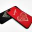 ไอโฟน 6/6s 4.7 นิ้ว เคสนิ่มกากเพชรหัวใจ thumbnail 4