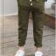 กางเกง สีเขียว แพ็ค 5 ชุด ไซส์ 120-130-140-150-160 (เลือกไซส์ได้) thumbnail 1