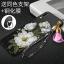 เคส Samsung A8 Star ซิลิโคนสกรีนดอกไม้สวยงามมาก พร้อมสายคล้องมือ (แหวนแล้วแต่ร้านจีนแถมหรือไม่) ราคาถูก thumbnail 10