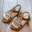 รองเท้าเด็กแฟชั่น สีเงิน แพ็ค 5 คู่ ไซต์ 21-22-23-24-25 thumbnail 1
