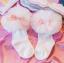 ถุงเท้าสั่ง สีขาวโบว์ชมพู แพ็ค 6 คู่ ไซส์ S (ประมาณ 1-3 ปี) thumbnail 1