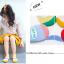 ถุงเท้าสั้น คละสี แพ็ค 10คู่ ไซส์ M (อายุประมาณ 3-5 ปี) thumbnail 5