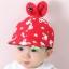 หมวก สีแดง แพ็ค 5ใบ ไซส์รอบศรีษะ 48-50cm thumbnail 1