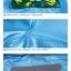 เสื้อกันฝนลายลิงพร้อมซอง (สีฟ้า) [size 6y] thumbnail 5