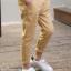 กางเกง สีกากี แพ็ค 5 ชุด ไซส์ 120-130-140-150-160 (เลือกไซส์ได้) thumbnail 2