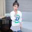 เสื้อ สีขาว แพ็ค 5 ชุด ไซส์ 120-130-140-150-160 (เลือกไซส์ได้) thumbnail 2