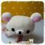 ตุ๊กตาหมีน้อยโครีแลคคุมะนอนคว่ำ Korilakkuma sleeply plush dolls thumbnail 3