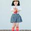 ถุงเท้ายาว สีโรส แพ็ค 12 คู่ ไซส์ M ประมาณ 3-5 ปี thumbnail 2