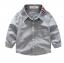 เสื้อ สีเทา แพ็ค 6 ชุด ไซส์ 90-100-110-120-130-140 thumbnail 1
