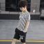 เสื้อ+กางเกง สีขาว แพ็ค 5 ชุด ไซส์ 130-140-150-160-170 (เลือกไซส์ได้) thumbnail 4