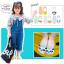 ถุงเท้าสั้น คละสี แพ็ค 10คู่ ไซส์ XL (อายุประมาณ 9-12 ปี) thumbnail 1