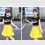 เสื้อ+กระโปรง แพ็ค 6 ชุด ไซส์ 110-120-130-140-150-160 (เลือกไซส์ได้) thumbnail 2