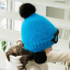 หมวก สีน้ำเงิน แพ็ค 5ใบ ไซส์ 2-8 ปี รอบศรีษะ17 * 18 ซม thumbnail 2