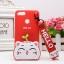 เคส Huawei Y9 (2018) ซิลิโคน soft case แบบนิ่มน่ารักมาก พร้อมสายคล้องเข้าชุด ราคาถูก thumbnail 3