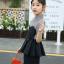 เสื้อ+กางเกง สีดำ แพ็ค 5 ชุด ไซส์ 120-130-140-150-160 (เลือกไซส์ได้) thumbnail 2