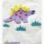 เสื้อยืดเด็ก ลายไดโนเสาร์สีม่วง Size S thumbnail 2