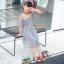 รองเท้าเด็กแฟชั่น สีเขียว แพ็ค 5 คู่ ไซต์ 21-22-23-24-25 thumbnail 6