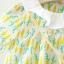 ชุดเดรสลายแครอทสีเหลือง+สายสะพายกระต่าย [size 6m-18m-2y] thumbnail 10