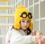 หมวก สีเหลือง แพ็ค 5ใบ ไซส์ 2-8 ปี รอบศรีษะ17 * 18 ซม thumbnail 1