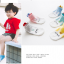 ถุงเท้าสั้น คละสี แพ็ค 10คู่ ไซส์ L (อายุประมาณ 6-8 ปี) thumbnail 7