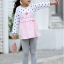 เสื้อ สีชมพู แพ็ค 5 ชุด ไซส์ 80-90-100-110-120 (เลือกไซส์ได้) thumbnail 2