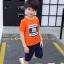 เสื้อ สีส้ม แพ็ค 5 ชุด ไซส์ 120-130-140-150-160 (เลือกไซส์ได้) thumbnail 1