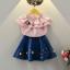 เสื้อ สีชมพู แพ็ค 5ชุด ไซส์ 100-110-120-130-140 thumbnail 6