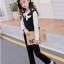 เสื้อกั๊ก+เสื้อตัวใน+กางเกง สีดำ แพ็ค 5 ชุด ไซส์ 120-130-140-150-160 (เลือกไซส์ได้) thumbnail 3