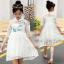 ชุดกระโปรง สีขาว แพ็ค 5 ชุด ไซส์ 120-130-140-150-160 (เลือกไซส์ได้) thumbnail 1