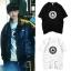 เสื้อยืด (T-Shirt) ลายโพดำ แบบ Jaehwan thumbnail 1