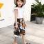 เสื้อ+กางเกง สีขาว แพ็ค 6 ชุด ไซส์ 110-120-130-140-150-160 (เลือกไซส์ได้) thumbnail 7