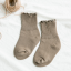 ถุงเท้าสั่น สีน้ำตาลอ่อน แพ็ค 12คู่ ไซส์ S (ประมาณ 1-3 ปี) thumbnail 1