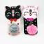 ซัมซุง J7Plus เคสtpuแมวดำห้อยขนเฟอร์ thumbnail 2