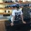 เสื้อยืดแฟชั่น EXO LUHAN WHITE 13 2014 (สีดำ) thumbnail 4