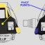 คลิ๊ปติดพื้นรองเท้า Cleat Sets รุ่น SM-SH12 สีฟ้า thumbnail 3