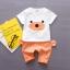 ชุดเซตลายน้องหมีสีส้ม แพ็ค 4 ชุด [size 6m-1y-2y-3y] thumbnail 1