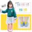 ถุงเท้าสั้น คละสี แพ็ค 10 คู่ ไซส์ XL ประมาณ 9-12 ปี thumbnail 1