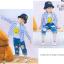 ถุงเท้าสั้น คละสี แพ็ค 10คู่ ไซส์ L (อายุประมาณ 6-8 ปี) thumbnail 10