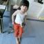 กางเกงเด็กสีส้ม แพ็ค 5 ชิ้น [size 2y-3y-4y-5y-6y] thumbnail 1