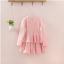 ชุดกระโปรง สีชมพู แพ็ค 5ชุด ไซส์ 100-110-120-130-140 thumbnail 2