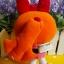 Powerpuff Girls - Blossom plush doll บลอซซั่มสาวน้อยพาวเวอร์พัฟเกริ์ลชุดส้ม thumbnail 3