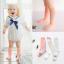 ถุงเท้ายาว สีม่วง แพ็ค 10 คู่ ไซส์ M (ประมาณ 2-4 ปี) thumbnail 2