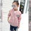 เสื้อแจ็คเก็ตสีชมพู [size 5y-6y-7y-8y-9y-10y] thumbnail 3
