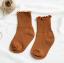 ถุงเท้าสั่น สีน้ำตาล แพ็ค 12คู่ ไซส์ L (อายุประมาณ 6-8 ปี) thumbnail 1