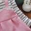 ชุดเดรสแขนยาวลายเอี๊ยมสีชมพู แพ็ค 3 ชุด [size 6m-2y-3y] thumbnail 2