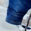 ชุดเซตเสื้อแขนยาวลายขวาง+เอี๊ยมน้องหมีสียีนส์ [size 1y-2y-3y-4y] thumbnail 6