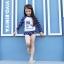 ชุดว่ายน้ำแขนยาวลายดาวของเด็กผู้หญิง แพ็ค 5 ชุด [size 2y-3y-4y-5y-6y] thumbnail 3