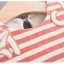 ชุดเดรสแขนยาวลายขวางสีชมพูแต่งแมวที่คอ แพ็ค 4 ชุด [size 6m-1y-2y-3y] thumbnail 3