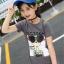 เสื้อ สีเทา แพ็ค 5 ชุด ไซส์ 120-130-140-150-160 (เลือกไซส์ได้) thumbnail 8
