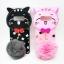 ซัมซุง Note 8 เคสtpuแมวดำห้อยขนเฟอร์ thumbnail 1